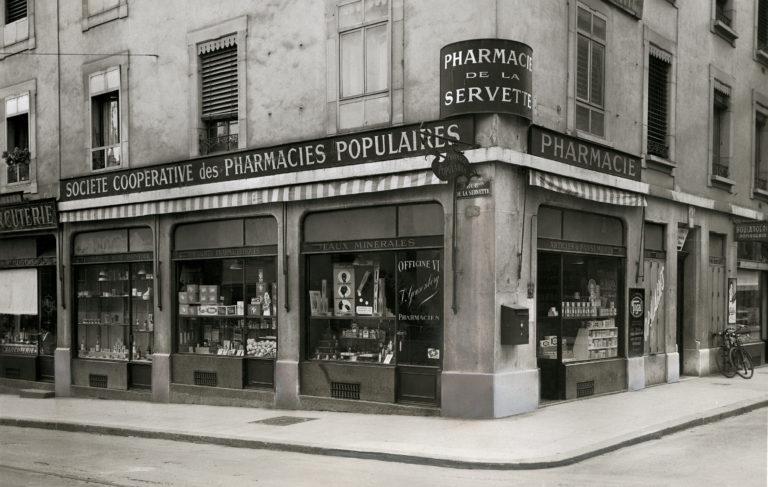 historiek pharmacie populaire